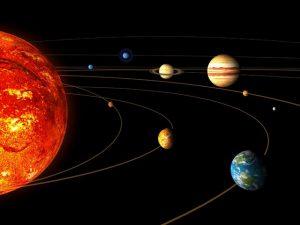 سباحة الكواكب